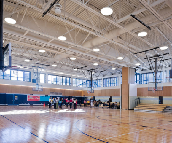 school gymnasium design in nyc by gran kriegel architects