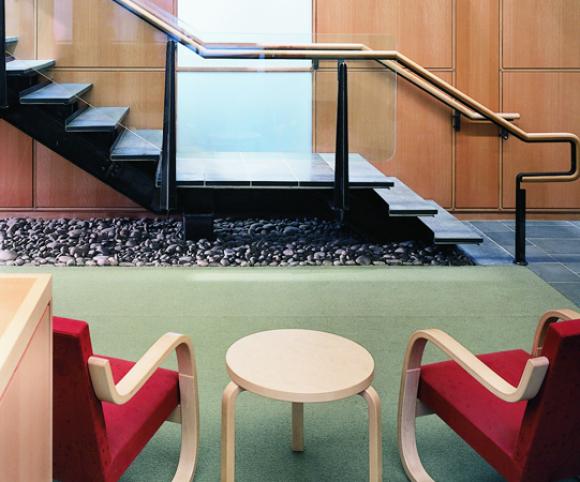 columbia university cerc interior design renovation project by Gran Kriegel Architects