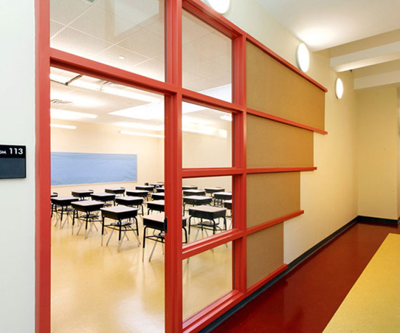 bronx school classroom design by gran kriegel architects