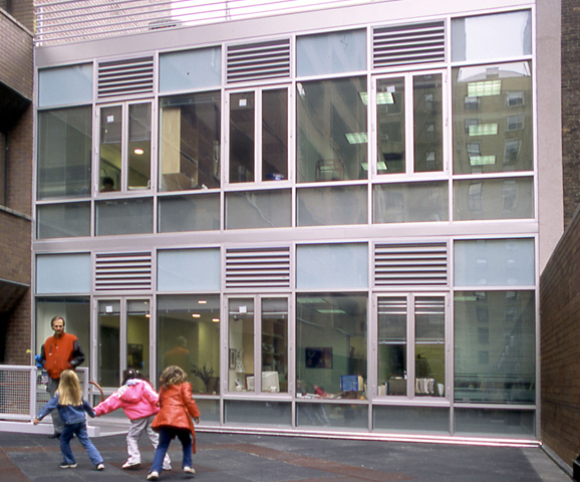 renovation project for bank street college of education in nyc by Gran Kriegel architects