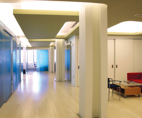 LEED certified office design by gran kriegel architects in nyc