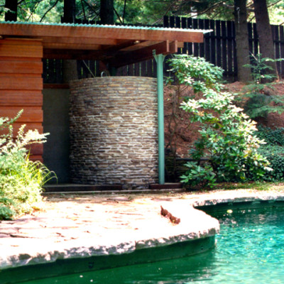award winning residential architect home designer pool house design by gran kriegel architects in new york