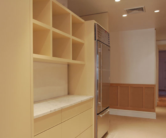 apartment interior remodeling by gran kriegel architects in nyc