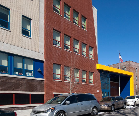 elementary school design in NYC by Gran Kriegel Architects specializing in educational architecture and design projects