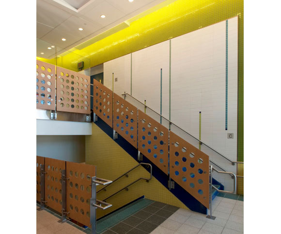 interior design for elementary school by educational architecture firm in NYC Gran Kriegel Architects