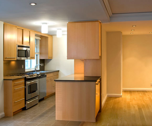 apartment kitchen interior design project for multifamily developers in NYC by Gran Kriegel Architects