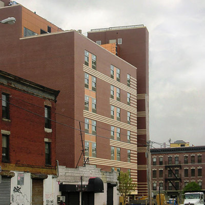 supportive housing new construction design and architecture in NYC by Gran Kriegel Architects