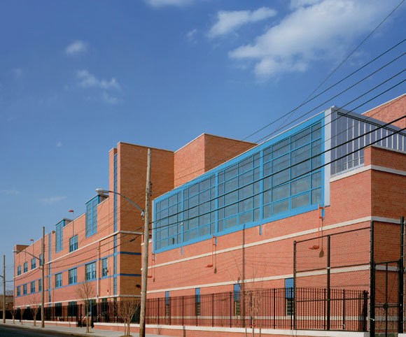 public school design for new educational construction in NYC by Gran Kriegel Architects