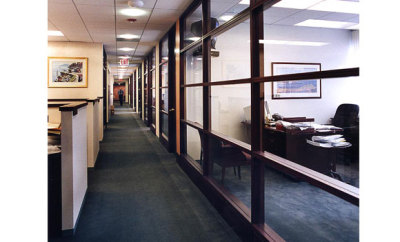 corporate office design in nyc by architecture and interior design firm Gran Kriegel architects