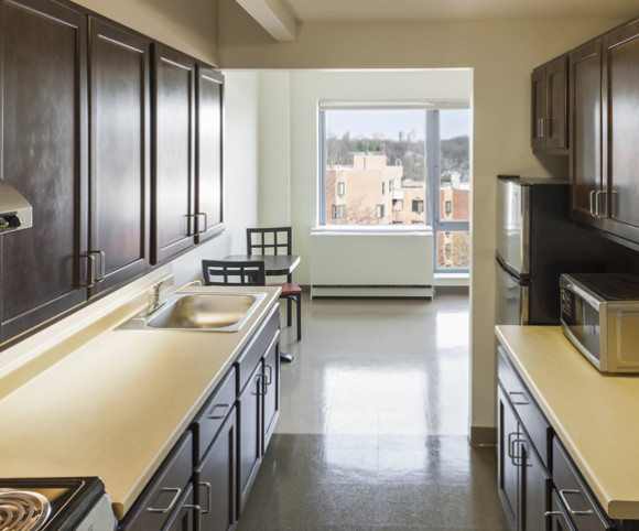 interior design for supportive housing residence in NYC by Gran Kriegel Architects