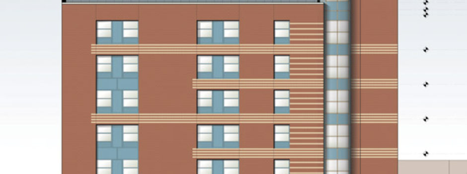 new construction architecture project - best supportive housing design by Gran Kriegel Architects in NYC