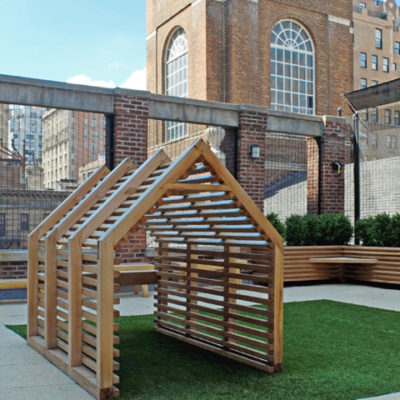 nyc rooftop school playground project