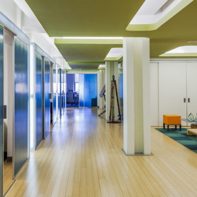 LEED Gold office design by Gran Kriegel Architects for Dagher Engineering