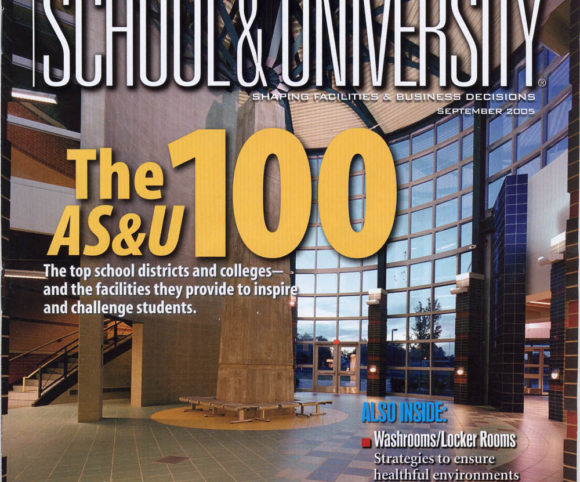 Gran Kriegel Architects PS 109 in NYC is featured in School and University magazine