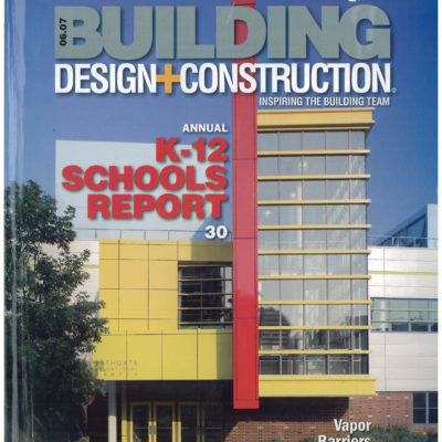 Gran Kriegels Bronx Lightouse Charter School design is featured in Building Design and Construction