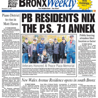 Gran Kriegel Architects supportive housing design for new Wales Ave Residence featured in NY Post