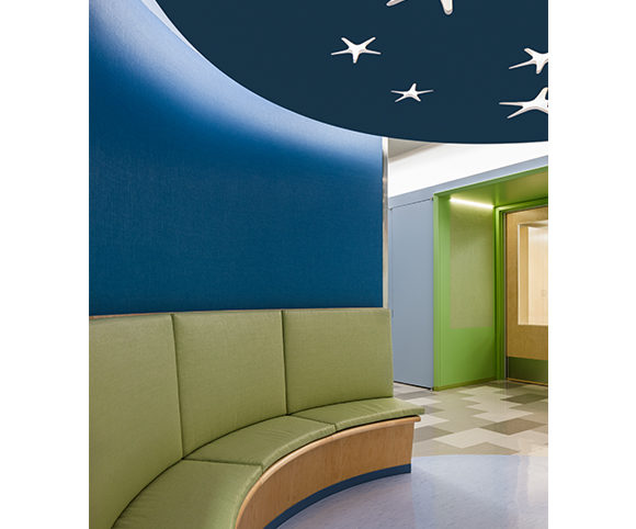 YAI Manhattan Star Academy School Corridor Lighting Design by Gran Kriegel Architects in NYC