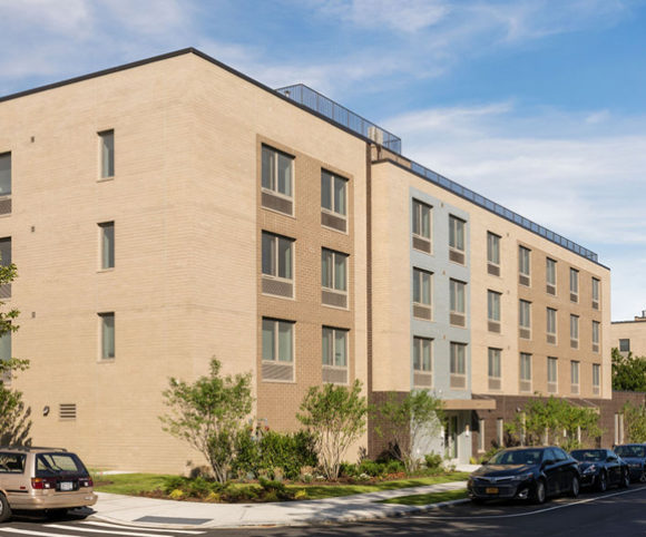 NYC Affordable Housing Development Marine Terrace Designed by Gran Kriegel Architects