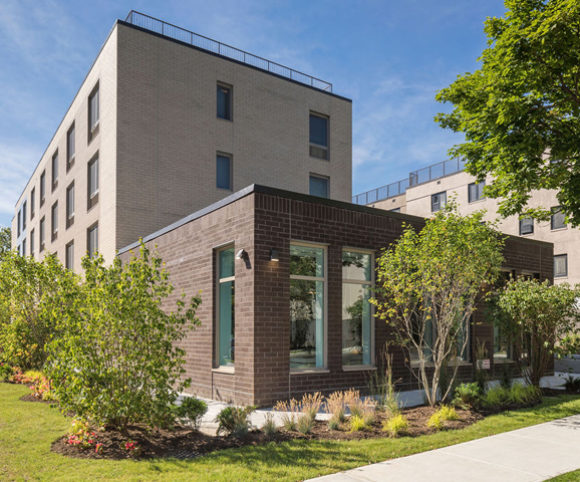 New Construction in Queens NY by Gran Kriegel Architects for Marine Terrace Affordable Housing