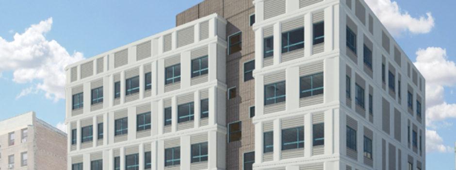 Exterior Design NYC School PS 469X