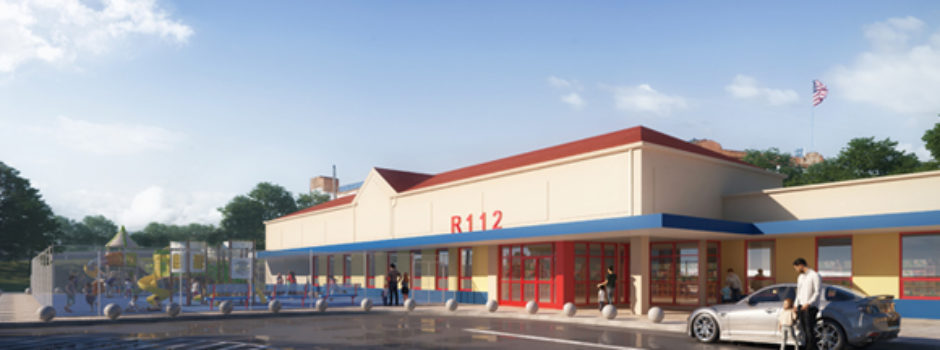 NYC Pre K School Design Rendering for R112