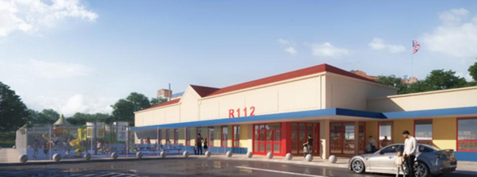 NYC Pre K School Design Rendering for R112