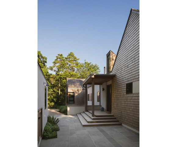 shelter island long island home design by gran kriegel architects - exterior patio design