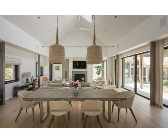 interior design shelter island ny by gran kriegel architects nyc - home dining room architecture